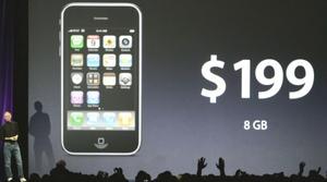 Otro modelo de 16 gigabytes costará 299 dólares. Los dispositivos se ofrecerán en un principio en 22 países.