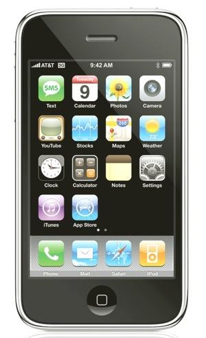 Apple Inc. presentó su teléfono celular iPhone mejorado con una conexión de internet más rápida y opciones de navegación GPS a un precio 200 dólares menor que los modelos actuales.