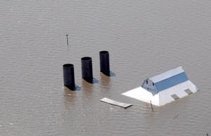 En el Oeste Medio de Estados Unidos, las inundaciones afectan desde la semana pasada y los daños son incontables hasta el momento.