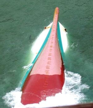 Las esperanzas de encontrar supervivientes dentro del barco disminuyeron aún más después de que por segunda vez consecutiva una patrullera no encontrara ninguna señal de vida al abordar la parte del casco del 'MV Princess of Stars' que sobresale del agua.