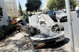 El atacante actuó en una parte muy concurrida del centro de Jerusalén, a algunos centenares de metros del lujoso hotel King David.