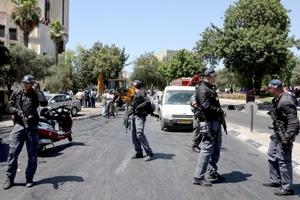 El incidente ocurrió cerca del hotel donde el candidato presidencial demócrata Barack Obama pernoctaba al iniciar una visita a Israel.