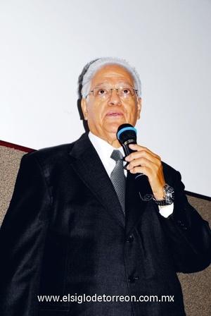 <b>Conferencia a ONG</b><p> Presidente de ONG´S en la Comarca Lagunera.