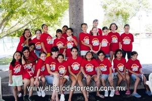 Grupo de asistentes al curso de verano del Parque España.