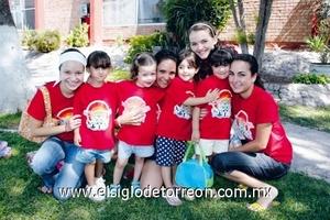 Mariana Nahle, Julia Gutiérrez, Eloisa Iriarte, Maricarmen Fernández, Camila Gómez, Karime Silveyra, Jimena del Río y Cecy Gutiérrez.