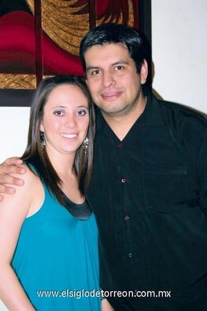 Adriana Cruz y Alfonso Guerrero.