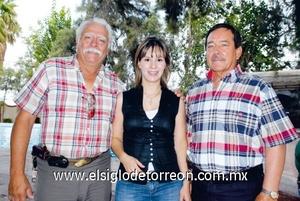 Juan Antonio Morales, Valeria Muñoz y Elías Silveyra.