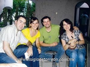 Iñigo Arzac, Yolanda Fernández, Pepe Bonilla y Marina González