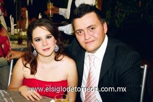 Daniela Padilla y Jorge Hoyos.