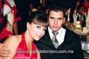 Bárbara Rendón y Pedro Garza.