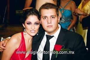 Samantha Diez y Leopoldo Torres.