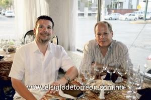 Eddy Gamma y Jorge Tuiedo.