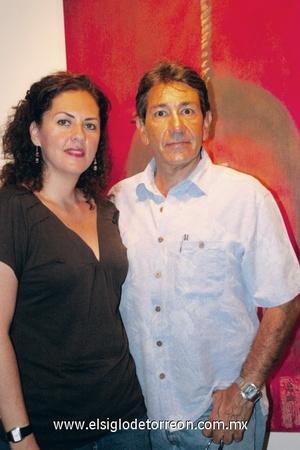 Adriana y Gabriel Aguilar.