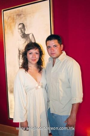 Rosa Gordillo y José Olayo.