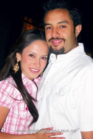 Lilia y Alejandro Tavera.