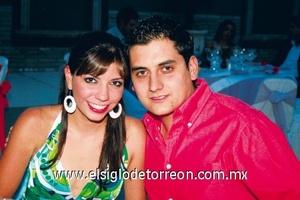 Alejandra Vara y Eduardo Gregory.