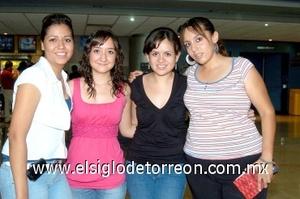 01082008 Alicia Silva, Susy Delgado, Carolina González y Pamela Alanís