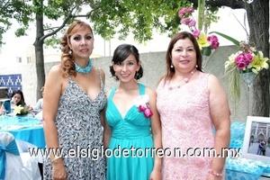 02082008 Alicia Ramos Flores, Chiara Carreón y Elva de la Cruz de Román
