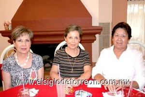 02082008 Graciela Reyes Engstrom, Rosa Elena R. de Rendón y Hortensia M. de Reyes