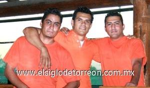 02082008 Martín Marmolejo, Gera Maciel y Juan Rojas