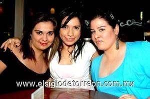 03082008 Cristina Romo, Mayra Mesta y Cristy Díaz.