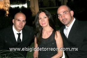 03082008 Daniel Nohra, Leticia Cassale y Omar Nohra.