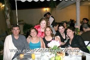 03082008 Jaime y Pilar, Lupis Flores, Rossana Conte y Cristy Cobos.