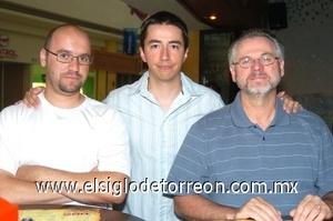 03082008 Jeremías Bondy, Francisco Rossi y Óscar Ortiz.