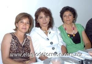06082008 Araceli Martínez, Ma. Concepción Pinedo e Irma Delgadillo.