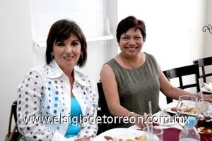 06082008 Laura de Handal y Alma Delia Méndez.