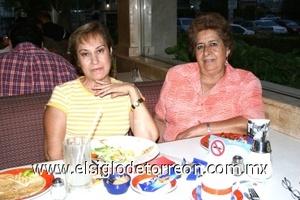 07082008 Martha Guevara y Elvia de Casillas