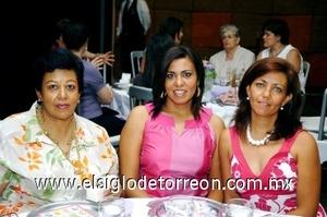 08082008 Claudia Cisneros, Silvia Villarreal y Marcela Cisneros