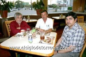 08082008 Rubén González, Ramiro Olmos y Sergio Hulgina