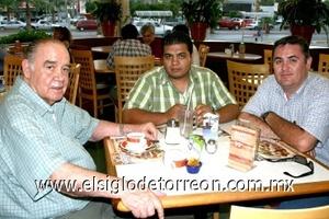 09082008 Sergio Estrella, Alejandro Mata Valadez y Nazario López Morales