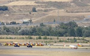 Rescatistas y testigos han descrito que la aeronave se calcinó casi por completo, lo mismo que la mayoría de sus ocupantes.