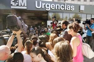 Los heridos se encuentran ingresados en los principales hospitales de Madrid, donde fueron trasladados en ambulancias.
