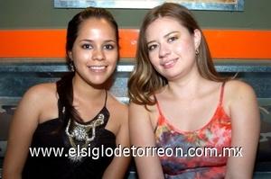 10082008 Abigaíl García y Teresa Segovia.