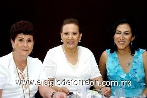 10082008 Catalina Frías, Catalina de León y Olga Morales.
