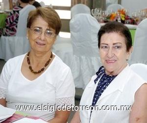 10082008 Fernanda Sánchez y Mary Carmen Aladro