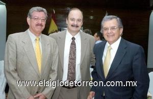 10082008 Gabriel Calvillo, Héctor Gaytán y Héctor Fernández.