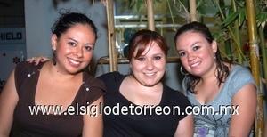 10082008 Liliana Tostado, Mafer del Bosque e Ivonne Reyes.