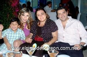 10082008 Marien de Osio, Óscar Calderón, Pilar González y Rafael Osio