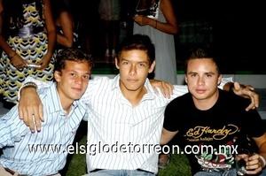 13082008 Benjamín Pérez, Poncho Cabello y Rodolfo González