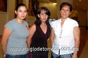 13082008 Diana Castañeda, Blanca Solís y Karla Ortiz