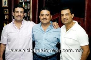 13082008 Héctor, Sergio y Gerardo Galindo
