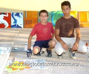 13082008 Luis Jorge Cárdenas y Jorge Humberto Romero