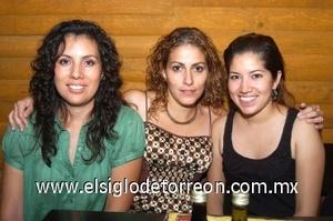 14082008 Bony de García, Fabiola de Romero y Yolanda Alonso