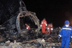 El jefe del Gobierno kirguís informó de que en el avión había 7 tripulantes y 83 pasajeros, incluidos 51 ciudadanos de Irán, Turquía, Canadá y China, además de kirguises.