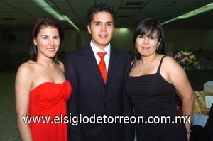 15082008 Linda Quiñones, Jesús Aguirre y Graciela Alonso.