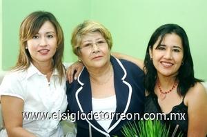 15082008 Paloma, Cristina y Kelly Vidaña